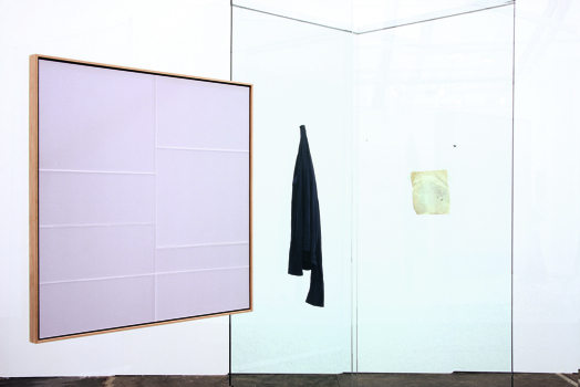 'Brain I', (detail), 2009, glass, steel, wood, c-prints, fabric, paper. Courtesy Andersen's Contempoprary Copenhagen and Galerie Kamm Berlin. Photo Wiley Hoard