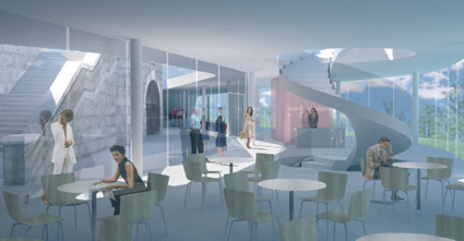 Architect views of the new space for contemporary art in Aberdeen