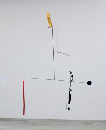 Martin Boyce, 'Fear Meets the Soul', 2008, steel, powder coated steel, acrylic paint, altered plywood leg splint