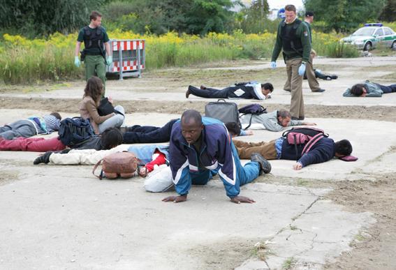 Aernout Mik, 'Training Ground', 2006, video still, digital video