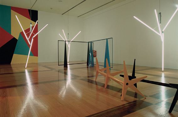 'Our Love is Like the Flowers, the Sea, the Rain and the Hours', 2002 and 'Brushing against Strange Weeds', 2004, Martin Boyce