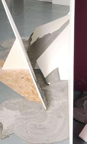 'Structural Pour' (detail), 2008