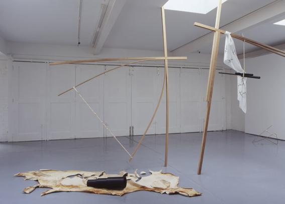 Claire Barclay, 'Foul Play', 2005, installation at doggerfisher, Edinburgh