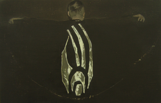 Victor Man, 'Swallowed by Shadows That Glow', 2006, oil on canvas on wood