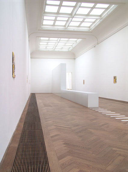 STOP! STOP! STOP! Kate Davis installation view, Kunsthalle Basel, 2006