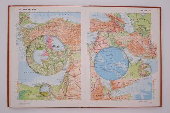 'Atlas', 2009, Atlas Larousse Classique, 1965