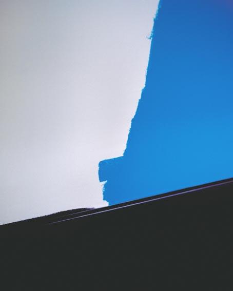 'Newcastle blue I, Newcastle 2007', piezopigmentprint