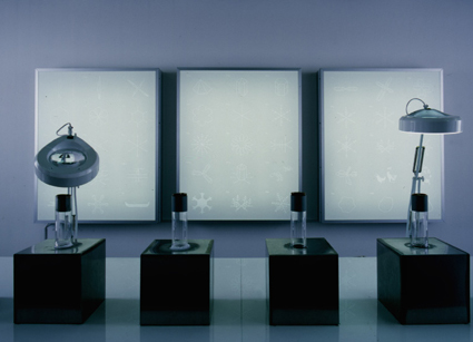 Carsten Nicolai, 'Snow Noise', 2001, mixed media, installation Ecole Nationale, Paris