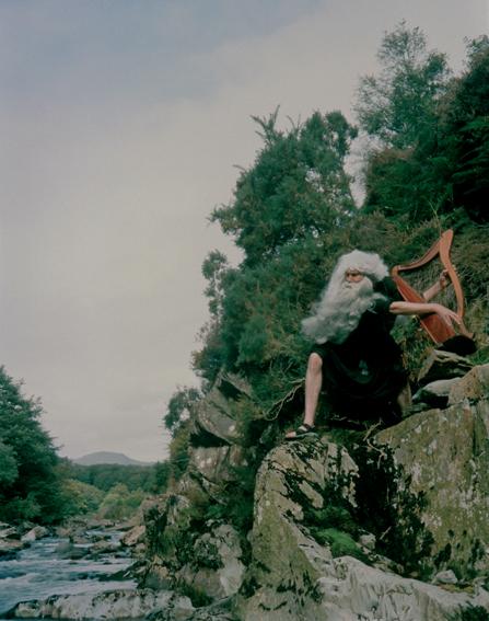 Bedwyr Williams, 'Bard Attitude', 2005, colour photograph