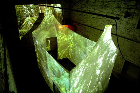 Ettie Spencer, installation view, Taigh Chearsabhagh, 2006