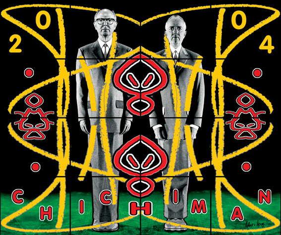 CHICHIMAN, Gilbert & George, Perversive Pictures, 2004