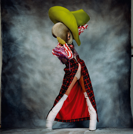 SESSION VI/LOOK, Leigh Bowery, 1992, Digital C-print. Courtesy of the Artist and Perry Rubenstein Gallery
