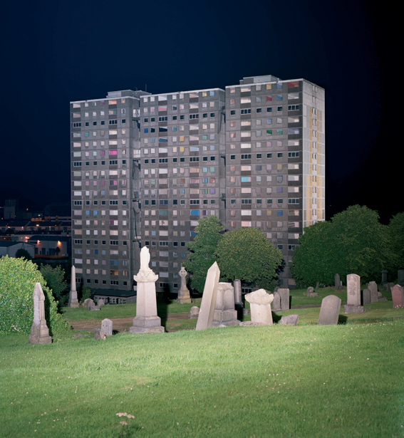 'Cenotaph to 12 Riverford Road, Pollockshaws, Glasgow', 2008, reconstituted concrete, installation view, Hayward Gallery, London