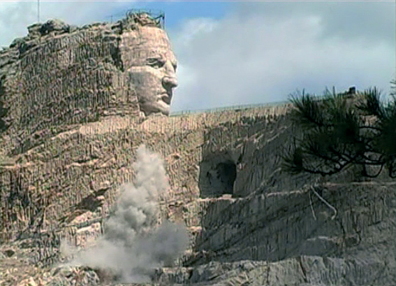 'Crazy Horse Memorial', 2007