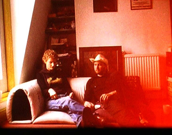 'The Way Out' (With Kosten Koper), 2003, DVD, colour and b/w, sound, 33 min