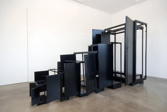 'Loggia of Mind', 2007, wood, varnish