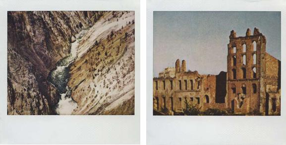 'Untitled #66' and 'Untitled #70', polaroid, 2009