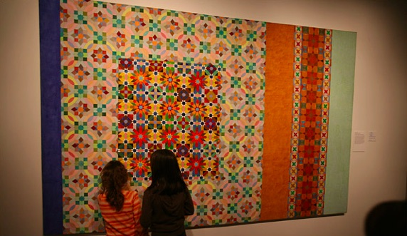 Joyce Kozloff, Hidden Chambers, 1975-76, Hudson River Museum