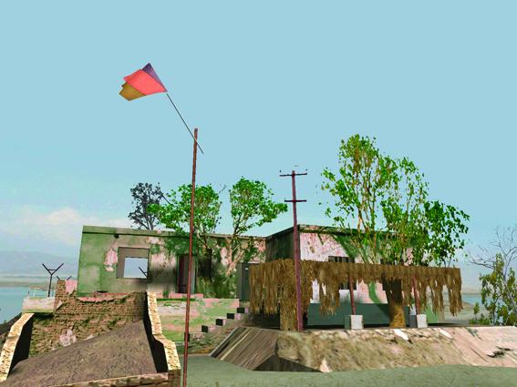 Langlands & Bell, 'The House of Osama bin LAden', 2003, still from interactive digital animation