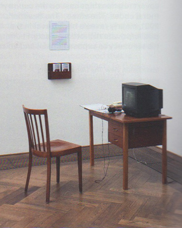 Installation view, How to Work