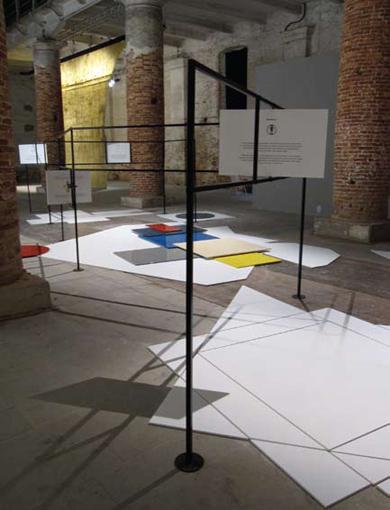 Falke Pisano, 'Figures of Speech', 2009, installation view, 53rd Venice Biennale 2009