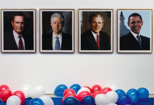 Obama '08, installation vew, Gavin Brown's enterprise, New York, 2008. Courtesy Gavin Brown's Enterprise New york