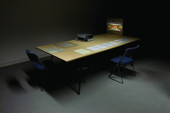 Faculty of Invisibility, Dark Light installation view