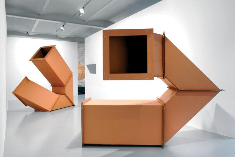Charlotte Posenenske, exhibition view, Galerie Mehdi Chouakri, Berlin, 2007