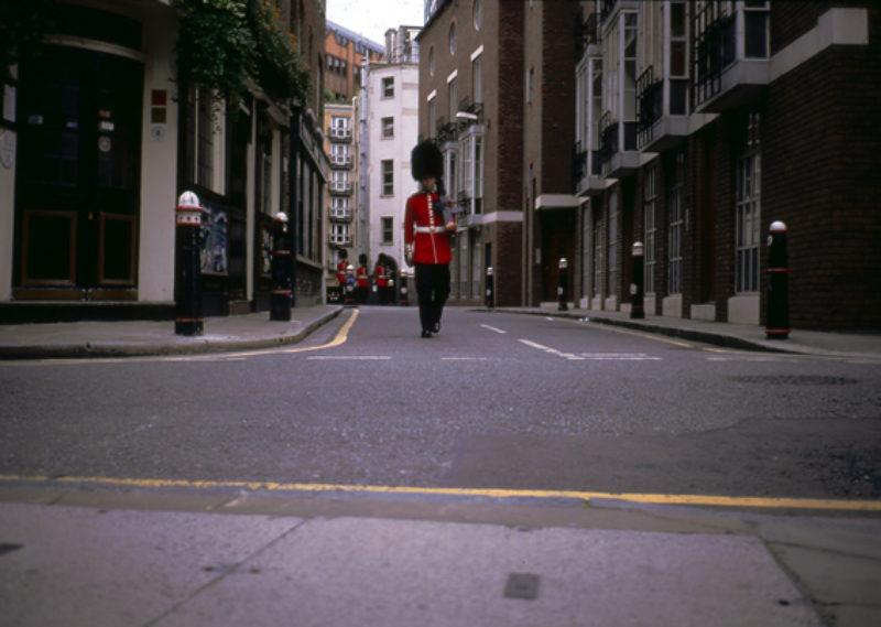 Francis Alys, Rafael Ortega, ' Guards', 2005, film still