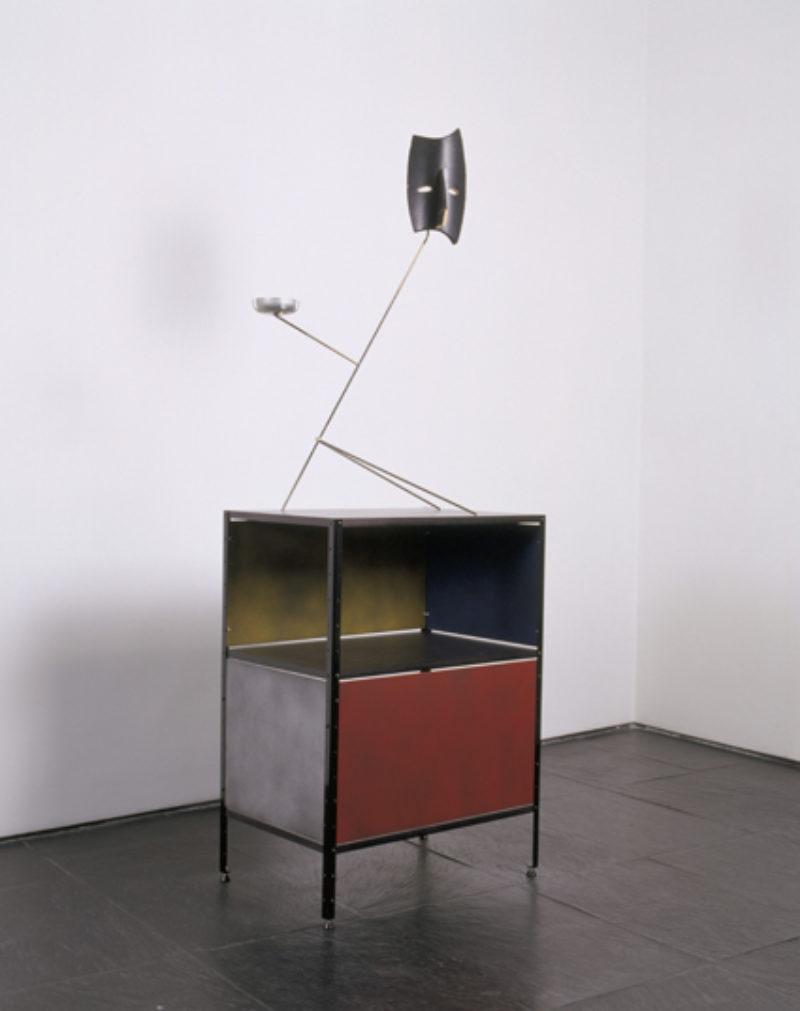 Martin Boyce, 'Dark Unit', 2003, wood, steel, altered Arne Jacobsen Series 7 + Amt Chair