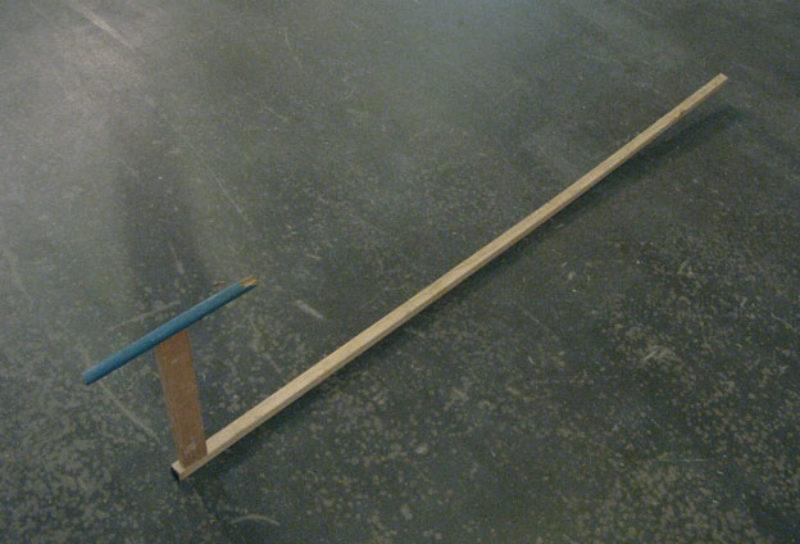 'AC6'. 2008, found wood