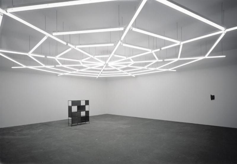 Martin Boyce, 'Untitled', 2007, steel, plywood, paint