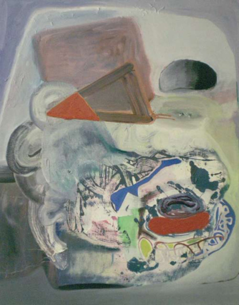 'Skin and Bones (after Guston)', 2008, oil on canvas