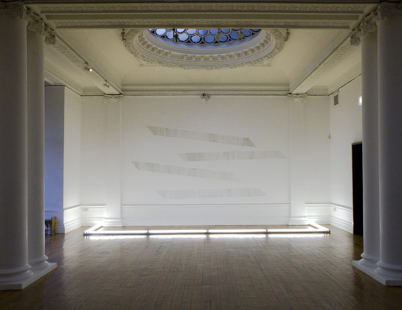 Mass Damper, installation view, Hatton Gallery, Newcastle-upon-Tyne, 2008