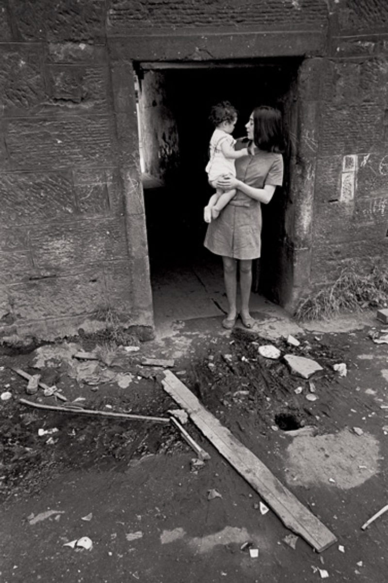 Mother and baby, Nick Hedges for Shelter 1969/70