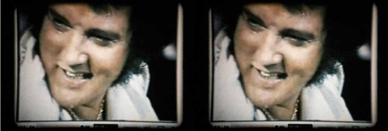 'Untitled', 2007, 16mm film stills screened as part of MAP's Visible Cinema programme, Glasgow Film Festival