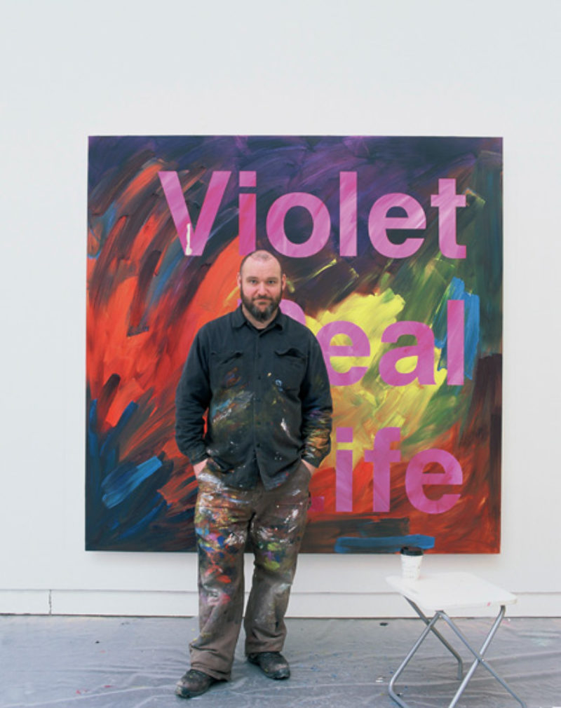 Ross Sinclair and 'Violet Real Life', 2006