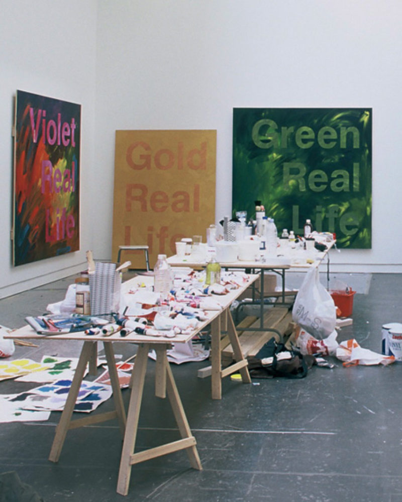 Constructing the Real Life Painting Show in CCA