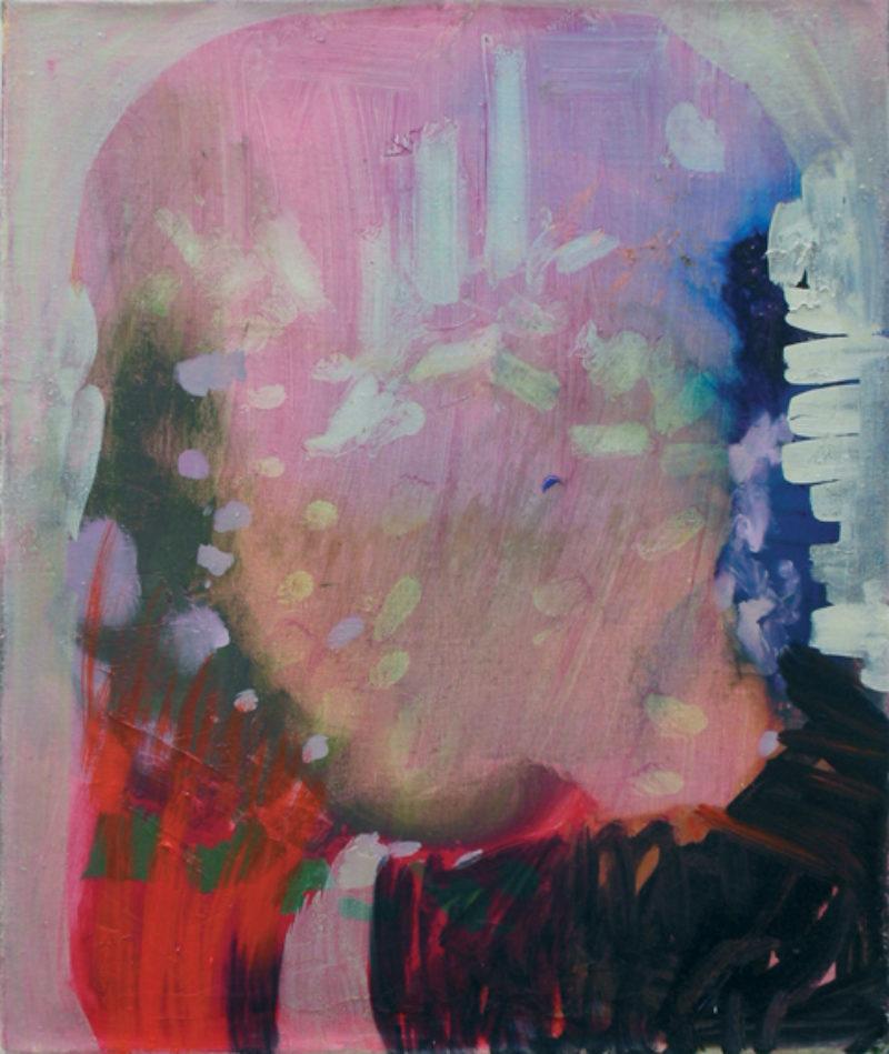 'Beach Portrait', 2008, oil on linen