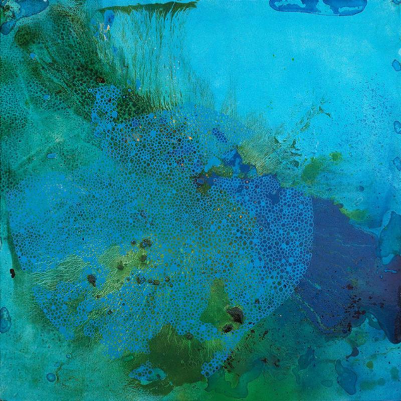 Nicola Broadfoot, 'Blue Crystal', 2005, mixed media on board