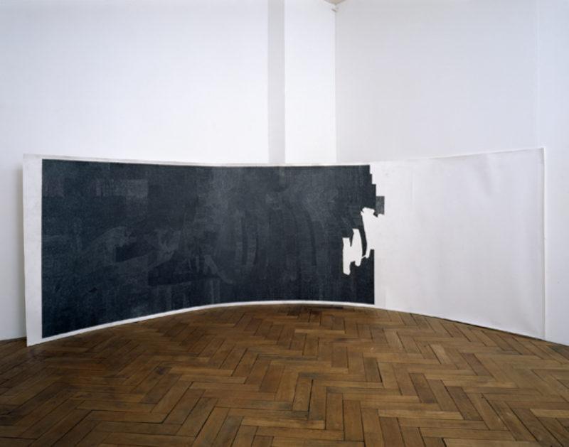 Lucy Skaer, '(Death)', 2006, permanent marker pen and pencil on paper, installation view, Elisabeth Kauffmann Gallery, Zurich