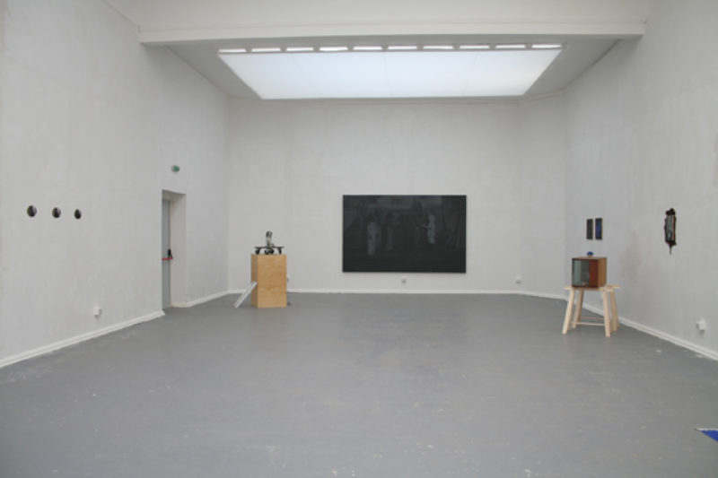Victor Man, 'Untitled', 2006-7, installation view, Romanian Pavilion, 52nd Venice Biennale