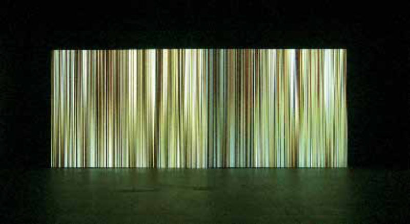 'The Curtain', 2006, realtime animation