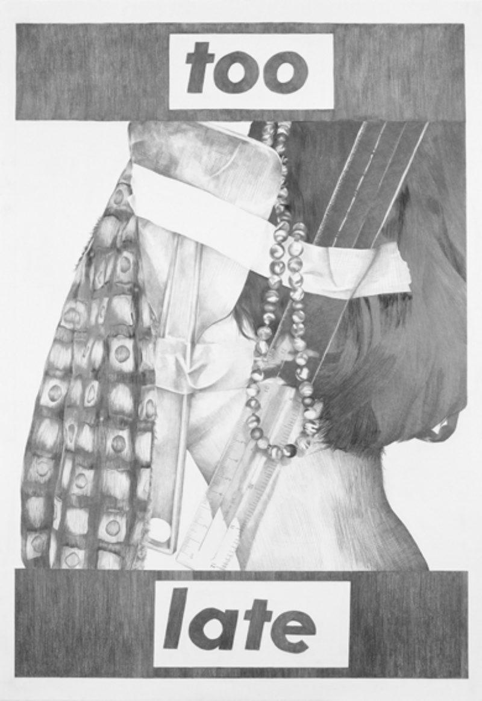 Kate Davis, from 'Your Body is a Battleground Still', 2007, poster 1