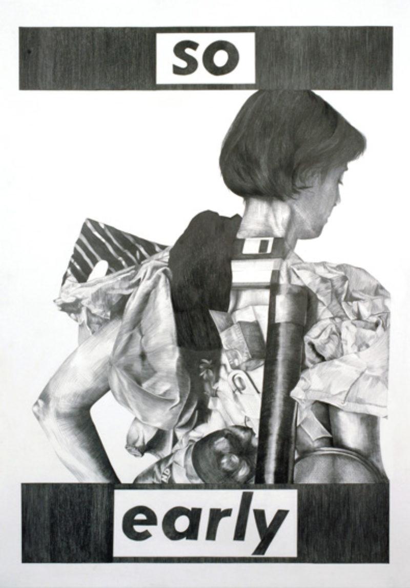 Kate Davis, from 'Your Body is a Battleground Still', 2007, poster 2