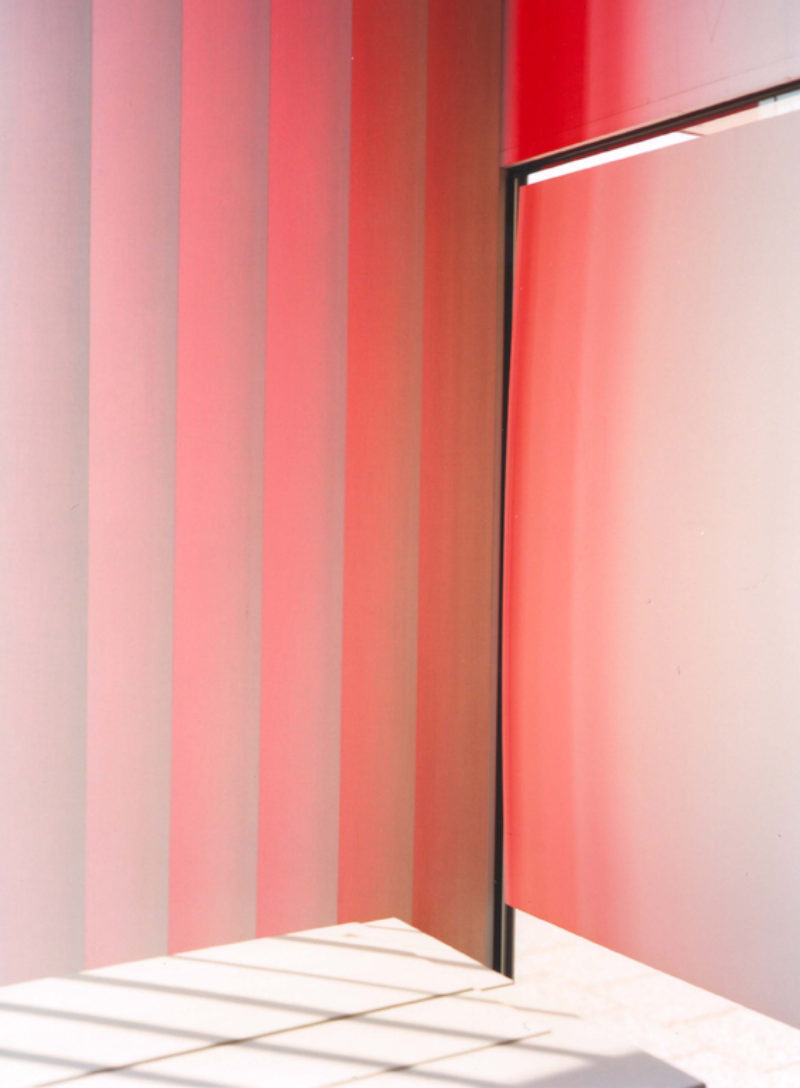 'Abstract red/white I, Berlin 2007', piezopigmentprint
