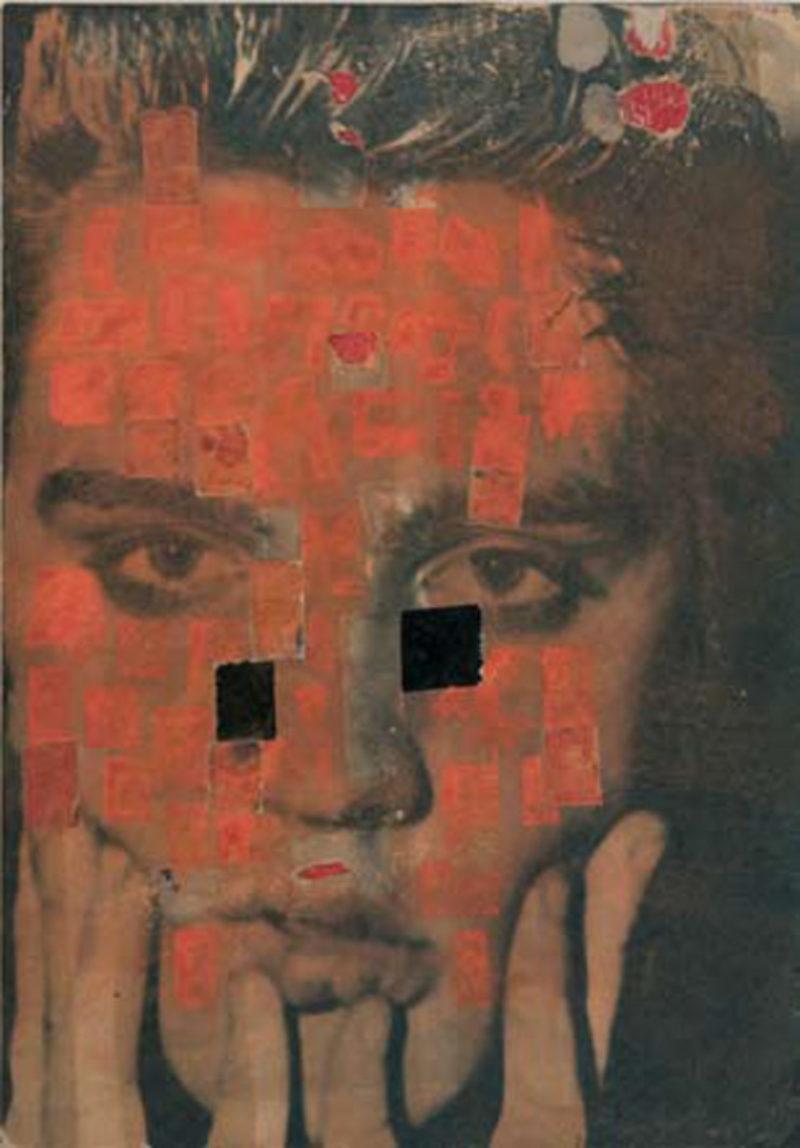 'Elvis '#2', 1956-57, collage