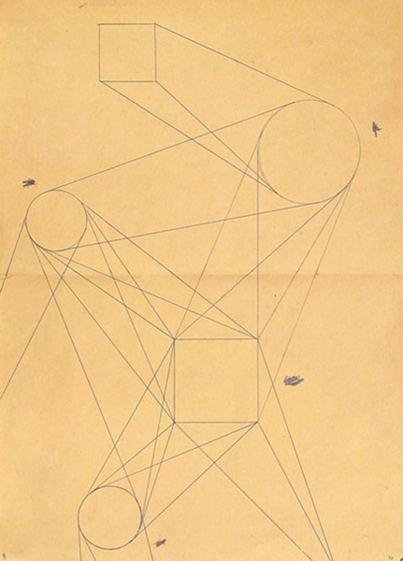 Helmut Federle, 'Untitled', 1978, pen and pencil on paper