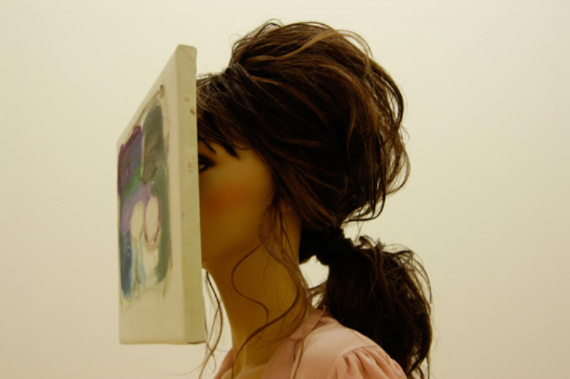 Cathy Wilkes, 'Most Women Never Experience', detail, 2005