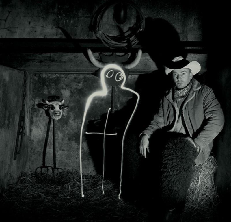 Colin Kirkpatrick, 'Diablo y Vaquero', 2005, black and white photograph